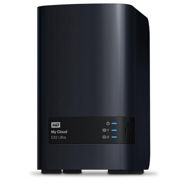 Western Digital My Cloud EX2 Ultra 2-Bay 8TB Bundle mit 2x 4TB Red WD40EFAX