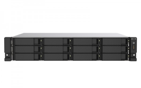 QNAP TS-1273AU-RP-8G 12-Bay 12TB Bundle mit 12x 1TB Gold WD1005FBYZ