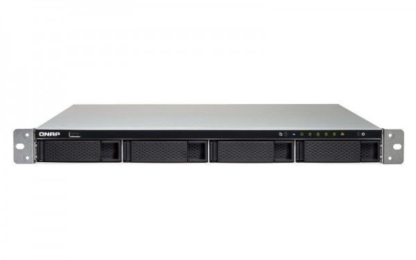 Qnap TS-463XU-8G 4-Bay 10TB Bundle mit 1x 10TB Red WD100EFAX