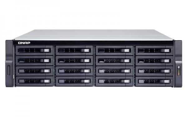 Qnap TS-1677XU-RP-1200-4G 16-Bay 64TB Bundle mit 16x 4TB Red Pro WD4003FFBX