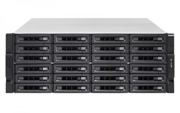 Qnap TVS-EC2480U-SAS-RP-16G-R2 24-Bay 24TB Bundle mit 12x 2TB HGST Ultrastar SAS