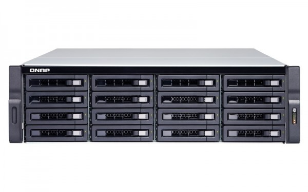 Qnap TS-1677XU-RP-2700-16G 16-Bay 64TB Bundle mit 8x 8TB Gold WD8004FRYZ