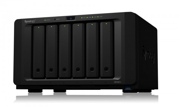 Synology DS1621+(8G) Synology RAM 6-Bay 72TB Bundle mit 6x 12TB IronWolf Pro ST12000NE0008