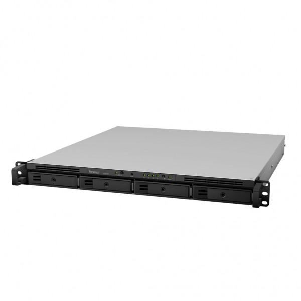 Synology RS818+ 4-Bay 40TB Bundle mit 4x 10TB Red WD101EFAX