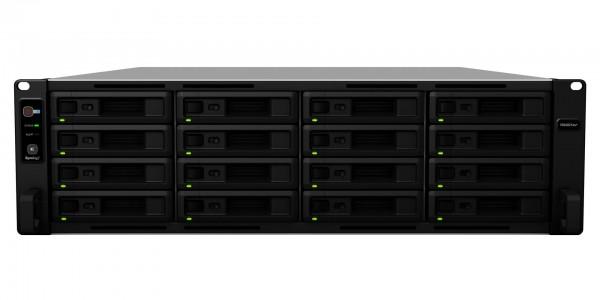 Synology RS4021xs+(64G) Synology RAM 16-Bay 144TB Bundle mit 8x 18TB IronWolf Pro ST18000NE000