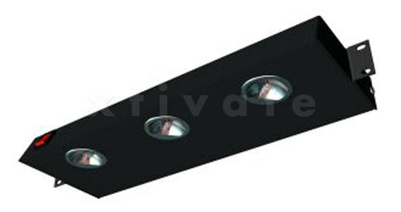 "Triton 19"" Beleuchtungseinheit 1HE, schwarz (RAB-OJ-X01-A1)"