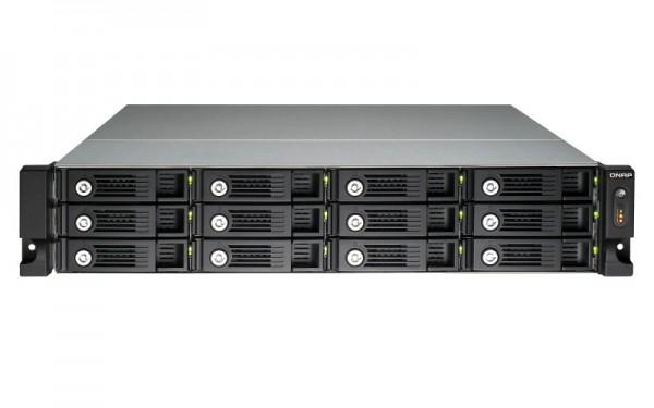 Qnap TS-1253U-RP 12-Bay 96TB Bundle mit 12x 8TB Red Pro WD8001FFWX