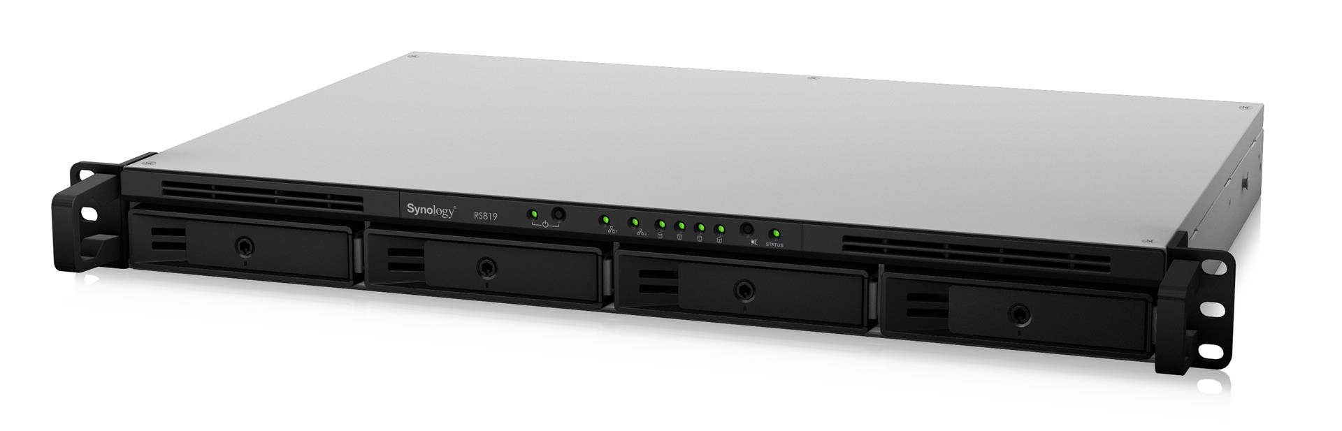 2G 4-Bay 16TB Bundle mit 4X 4TB HDs Synology RS820RP+