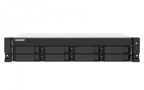 QNAP TS-853DU-RP-4G 8-Bay 4TB Bundle mit 2x 2TB Gold WD2005FBYZ