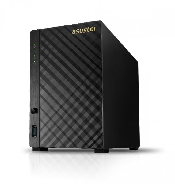 Asustor AS1002T v2 2-Bay 2TB Bundle mit 2x 1TB Gold WD1005FBYZ