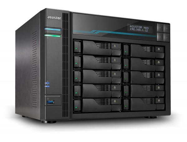 Asustor AS7110T 10-Bay 48TB Bundle mit 6x 8TB Gold WD8004FRYZ