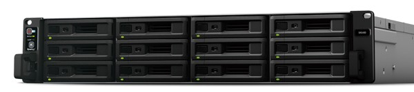 Synology SA3400 12-Bay 96TB Bundle mit 12x 8TB Red Pro WD8003FFBX