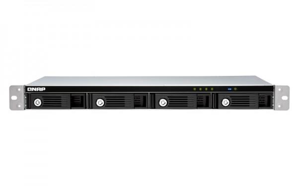 QNAP TR-004U 4-Bay 40TB Bundle mit 4x 10TB Red Plus WD101EFBX