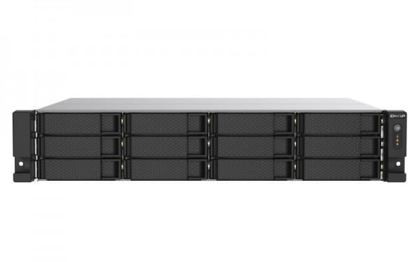 QNAP TS-1273AU-RP-8G 12-Bay 96TB Bundle mit 12x 8TB Gold WD8004FRYZ