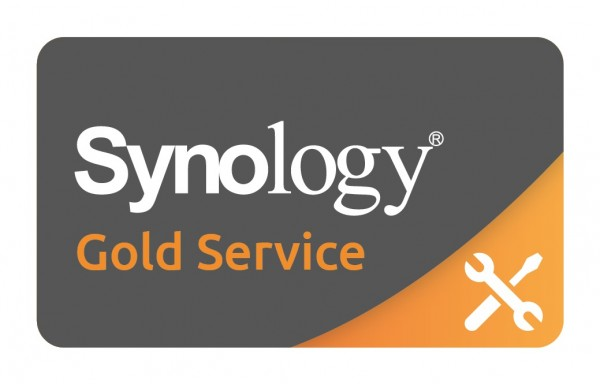 GOLD-SERVICE für Synology RS1219+ (4GB)