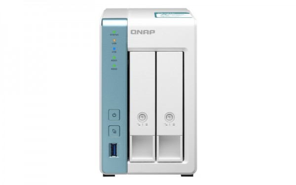 QNAP TS-231K 2-Bay 24TB Bundle mit 2x 12TB Red Plus WD120EFBX