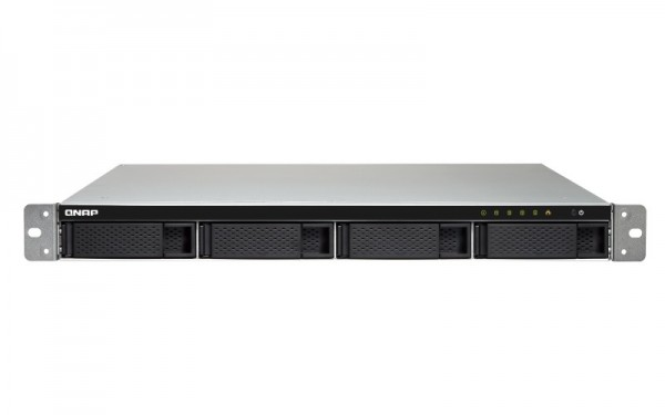 Qnap TS-453BU-RP-8G 4-Bay 16TB Bundle mit 2x 8TB Red WD80EFAX
