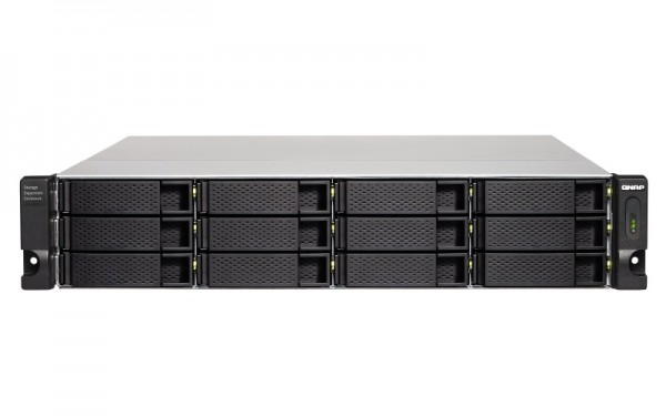 QNAP TL-R1200C-RP 12-Bay 60TB Bundle mit 6x 10TB Gold WD102KRYZ