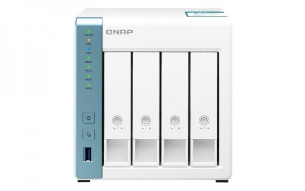 QNAP TS-431K 4-Bay 24TB Bundle mit 3x 8TB Gold WD8004FRYZ
