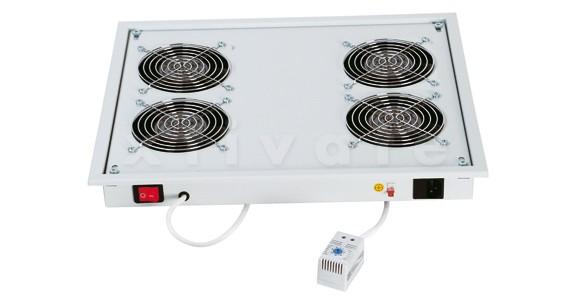 Triton Belüftungseinheit für Dach/Boden mit 4 St.Lüfter je 160m3/h 220V 50/60Hz und Thermostat (RAC