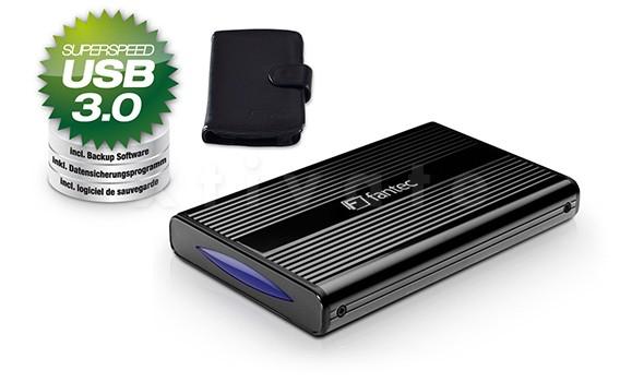 FANTEC DB-228U3, USB 3.0 schwarz
