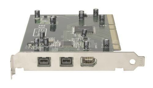 FireWire 800 (IEEE 1394b) PCI Adapterkarte, 3 Port