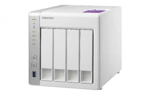 Qnap TS-431P 4-Bay 24TB Bundle mit 4x 6TB Red Pro WD6003FFBX