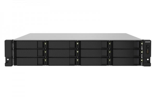 QNAP TS-1232PXU-RP-8G 12-Bay 48TB Bundle mit 6x 8TB Gold WD8004FRYZ
